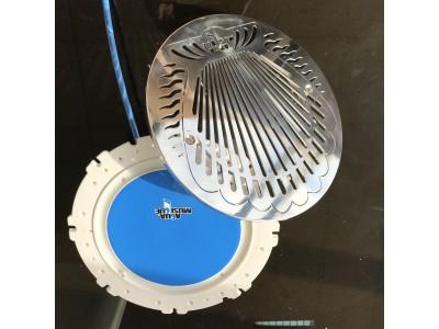 AquAirMusic - haut parleur encastré - Façade Inox 316L